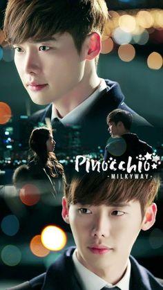 Fanart - Pinocchio kdrama #leejongsuk #parkshinhye