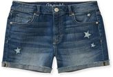 These are a great length! Star Destroyed Medium Wash Denim Midi Shorts