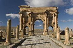 8. Arch of Trajan, c. AD 100, Timgad Batna (Algeria)