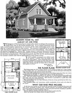 Sears Homes 1908–1940. The Dayton.....closest design similar to our house that I have ever seen