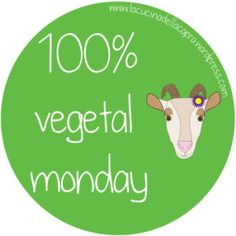 100% veg monday logo