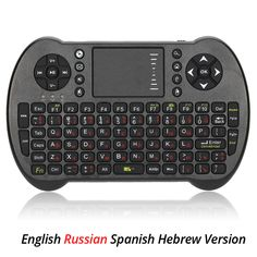 2.4G Mini USB Wireless Keyboard Russian Spanish Gaming Keyboard Touchpad Air Fly Mouse Remote Control for Android PC TV Box Mac  Price: 21.00 & FREE Shipping   #toys #toy #hobbies #trevelling #outdoors #hobbie