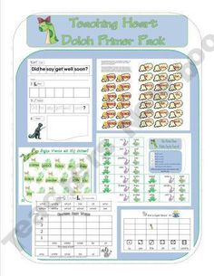 Dolch Primer Sight Word Packet