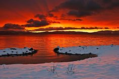 West Shore sunrise from Bill Langton