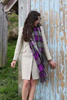 Beautiful ANTA scarf  http://anta.co.uk/made-in-scotland/fashion-classics/scarves-ties #fashion #tartan #anta #fashion #scarf