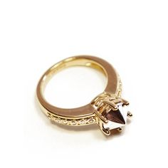 Anna Sheffield Eleonor Gold Ring
