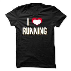 I Love Running - shirt dress #tee #Tshirt
