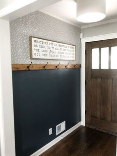 DIY Home Remodeling DIY Easy Entryway Makeover with Paint! Mindfully Gray Diy home decor DIY Easy Entryway Gray Home Home diy Makeover Mindfully paint Remodeling Diy Interior, Interior Design, Grey Interior Paint, Interior Wall Colors, Decoration Entree, Mindful Gray, Sweet Home, Diy Casa, Home Renovation