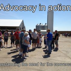 "Farmers telling their story! ""Advocacy in action: understanding the need for the conversation"""