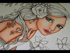 Molly Harrison - Fairies and Fantasy - How to color with Prismacolor - Part 1 - YouTube