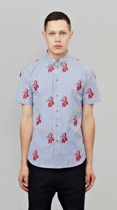 Benjamin Striped Short Sleeve Shirt