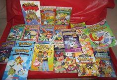 20 Assorted Pokemon Story and Handbook Books Scholastic #Pokemon #Books #KidsBooks Find me at dandeepop.com
