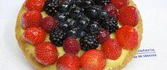 Pasta crema e frutti di bosco #checcoercarettiere #cake