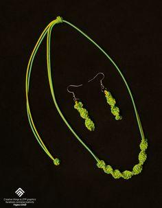 Microcord jewelry set