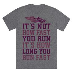 True cross-country runners know this rule (Sprinters do not! Distance running is a matter of sheer determination, and you got it! Who says cardio is easy? Not anyone who ever tried this--leave them to eat your dust. Cross country runners got no time for Cross Country Quotes, Cross Country Shirts, Cross Country Running, Track Quotes, Running Quotes, Running Motivation, Running Humor, Running Club, Running Tips
