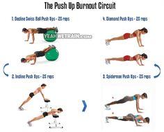The Push Up Burnout Circuit