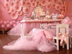 elegant pink ballerina birthday decorations | ... sPartyIdeas com # # Ballet PartyIdeas # Suprimentos # Girl # Pink (16