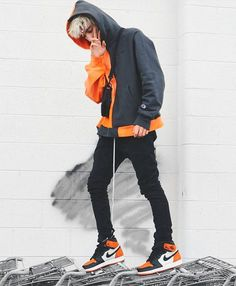 ** Streetwear daily - - - Click this picture to check out our clothing label ** Tomboy Outfits, Trendy Outfits, Fashion Outfits, Fashion Styles, Gucci Outfits, Fashion Trends, High Fashion Men, Mens Fashion, Modern Fashion