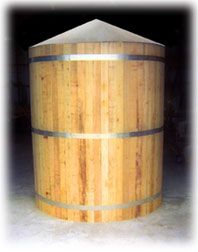 Custom Cisterns from Texas Metal cisterns