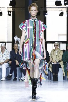 Sacai Ready To Wear Spring Summer 2017 Paris