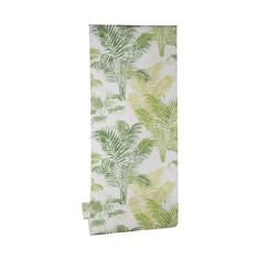 Papier peint vinyle lourd Palmier Vert - CASTORAMA