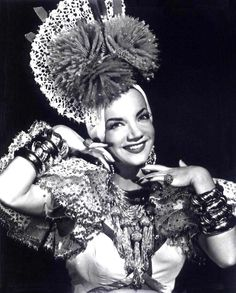 Carmen Miranda: Carmen Miranda, was a Portuguese Brazilian samba singer, dancer, Broadway actress, and film star who was popular from the 1930s to the 1950s. By the 1930s, Miranda was a local star, singing and dancing in musicals and five Brazilian feature films.