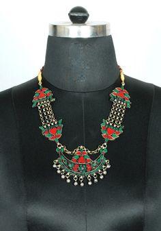 Tribal Afghan Necklace design 20 – Desically Ethnic