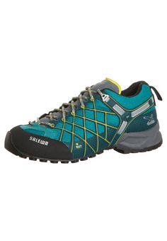 super popular bfafa fb008 Salewa WILDFIRE GTX Climbing shoes petrol