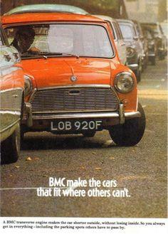 BMC mini ad