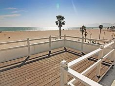 *****Venice+Beach+Ocean+View+Top+Floor+Front+Unit+On+The+Sand*****+++Vacation Rental in Los Angeles from Ocean View Apartment, Los Angeles Vacation, Venice Beach, Perfect Place, Bungalow, Ideal Home, Condo, Outdoor Structures, Outdoor Decor
