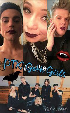 My edit! PTX gone goth! :)<--- not my edit