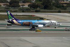 Special Livery, Alaska Airlines - Spirit of Alaska, Boeing 737-400 ...