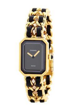 Chanel Women's Premiere Gold Vermeil Watch by Designer Estate Watches on @HauteLook