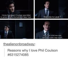 Phil Coulson <3 angents of shield starts tonight!!!! i am too excited!