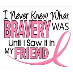 Be brave and fight breast cancer