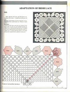 ANCHOR crochet lace through pictures (Japan)