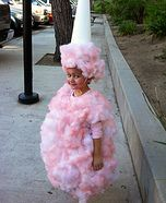 Homemade Cotton Candy Costume-great ideas for Halloween costumes