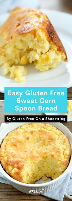 3. Gluten-Free Sweet Corn Spoon Bread #glutenfree #Thanksgiving #sides http://greatist.com/eat/thanksgiving-recipes-for-gluten-free-guests