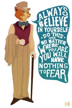 """""""Siempre cree en ti misma. Si lo haces, no importa donde estés, no tendrás nada que temer."""" (Haru en el reino...)"""