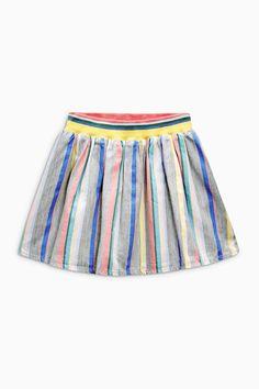 Rainbow Striped Skirt | Next USA
