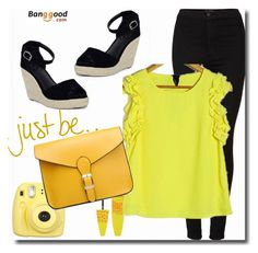 """""""Banggood 2/2"""" by goldenhour ❤ liked on Polyvore featuring Maybelline and Topshop"""