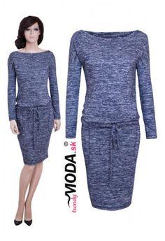 Úpletove šaty - MS08