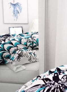 Vallila Memento bed linen, photo by Uino