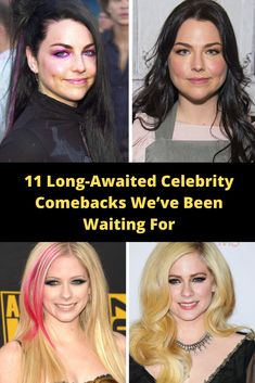 11 Long-Awaited Celebrity Comebacks We've Been Waiting For Makeup Eye Looks, Eye Makeup, Bizarre Pictures, Fun World, Long Awaited, Riddles, Makeup Tools, Confessions, Geo