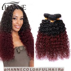 Ali queen hair products 3pcs brazilian curly virgin hair deep wave buy brazilian virgin hair curly burgundy ombre red brazilian hair extension kinky straight hair weave 3 bundles from reliable hair coat suppliers on hanne pmusecretfo Choice Image