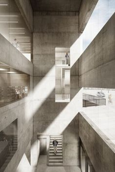 Interesting Find A Career In Architecture Ideas. Admirable Find A Career In Architecture Ideas. Architecture Design, Museum Architecture, Cultural Architecture, Architecture Visualization, Commercial Architecture, Light Architecture, Ecole Design, Brutalist, Urban Design