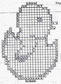 Crochet Patterns Filet, Crochet Symbols, Vintage Crochet Patterns, Beading Patterns Free, Doily Patterns, Filet Crochet, Crochet Motif, Cross Stitch Patterns, Easter Tablecloth