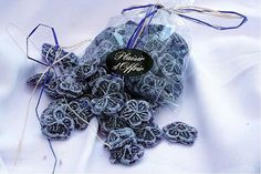 Bonbons made from Violette de Toulouse and found in specialist shops in the city centre (Credit: Wikipedia)