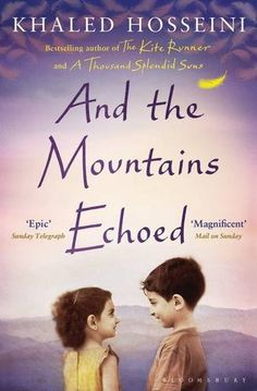 And the Mountains Echoed by Khaled Hosseini. This is Khaled Hosseinis third booked, liked it more than His second book, A thousand splendid suns but the kite runner is still my favourite of his.
