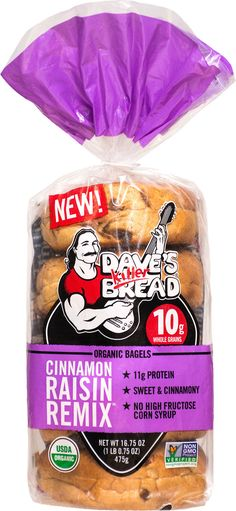 Cinnamon Raisin Remix Bagels